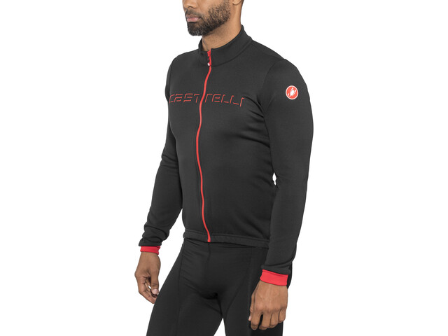 Castelli Fondo Bike Jersey Longsleeve Men black at Bikester.co.uk cf7d678b7